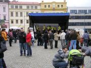Společný jazyk v rytmu na jarmarku v Třebíči