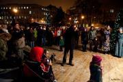 Vánoční trhy na Moravském náměstí v Brně