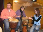 Workshop na Mikulášské zábavě v Břeclavi